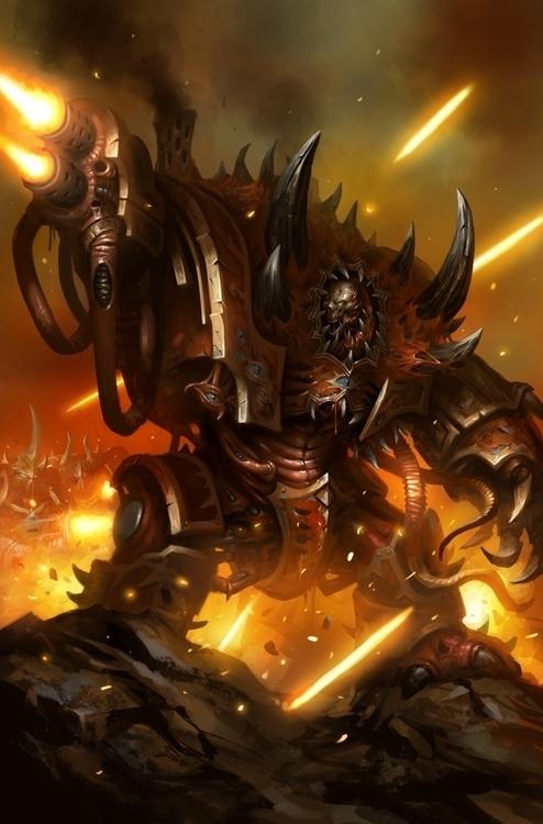 Mortis Metalikus - warhammer, 40k - daarken | ello