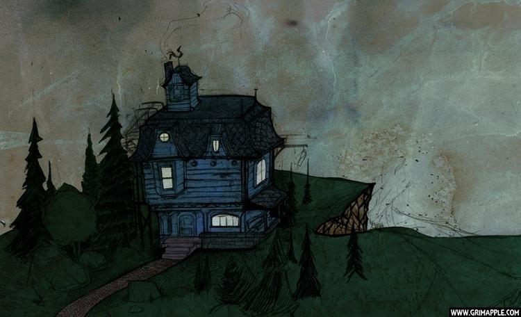 Dream House: cold, dark, wet he - grimapple | ello
