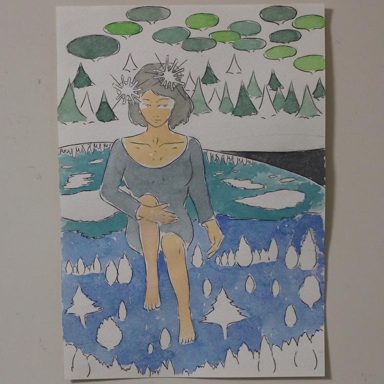 04/01/2016 - drawing, watercolor - yusukesugiyama | ello