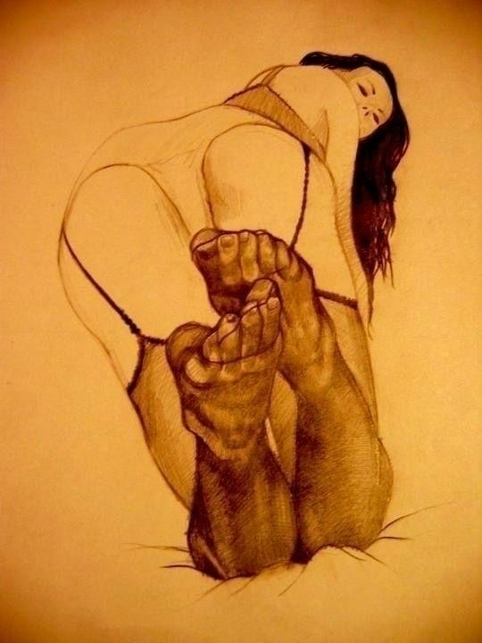 Erotic epic. Pencil paper - tomasch516 | ello