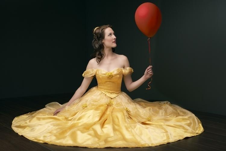 Belle - Ballerina, belle, yellow - ferryknijn-3392 | ello