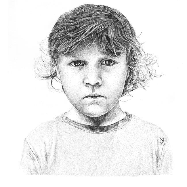 Miron, 2014, ink - illustration - cicholazart | ello
