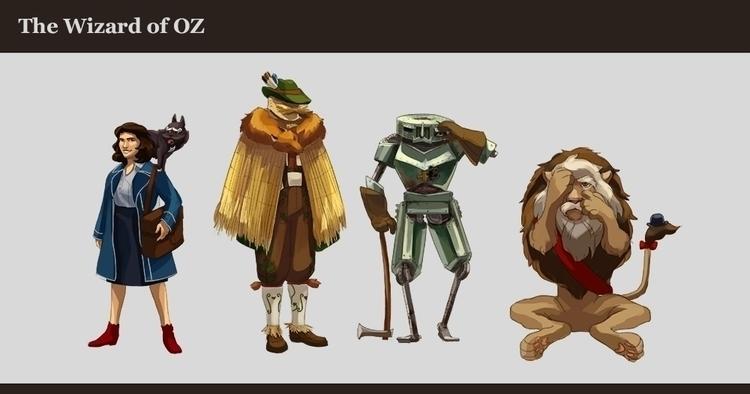 Busy reinventing Wizard Oz - wizardofoz - anndorphin | ello