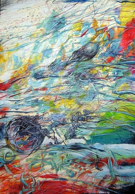 none51intruder - painting, drawing - erik_shutov   ello