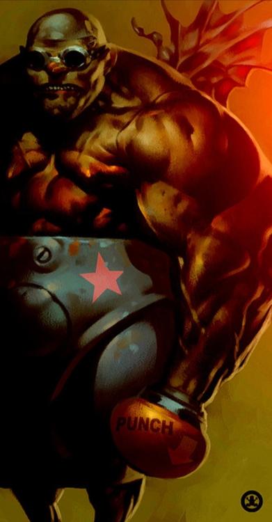 Punch - Illustration - theblackfrog | ello