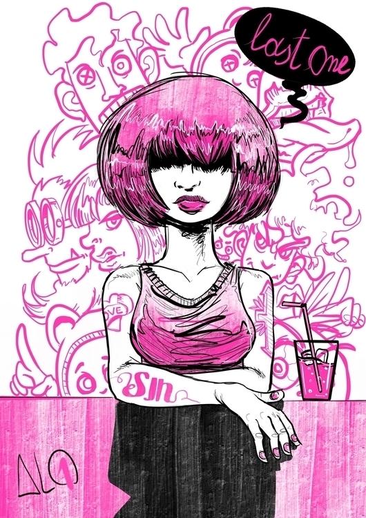 Procreate sketch - illustration - al1isbetter | ello