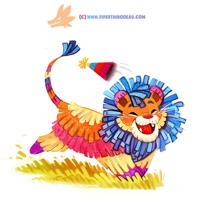 (WIP) Daily Paint 1292. Party A - piperthibodeau | ello