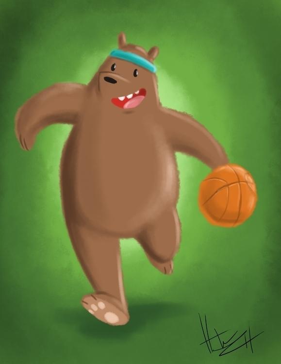 Bare Bears Grizz - webarebears - hasaniwalker | ello