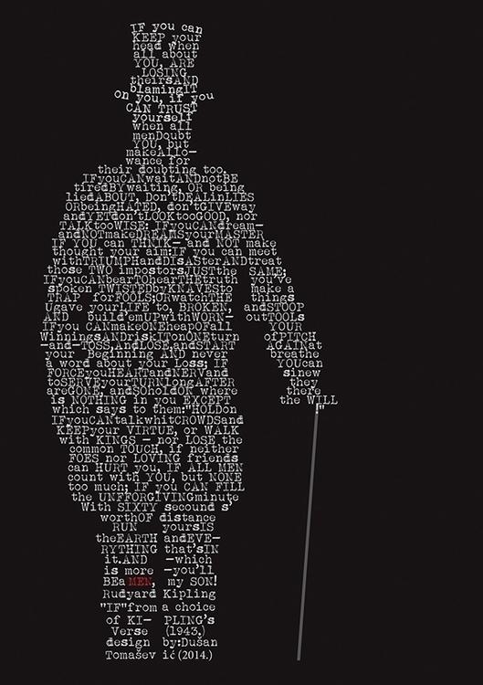 Rudyard Kipling  - typography - tomasch516 | ello