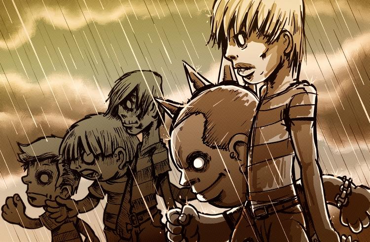 Undead friends Sketchbook mobil - al1isbetter | ello