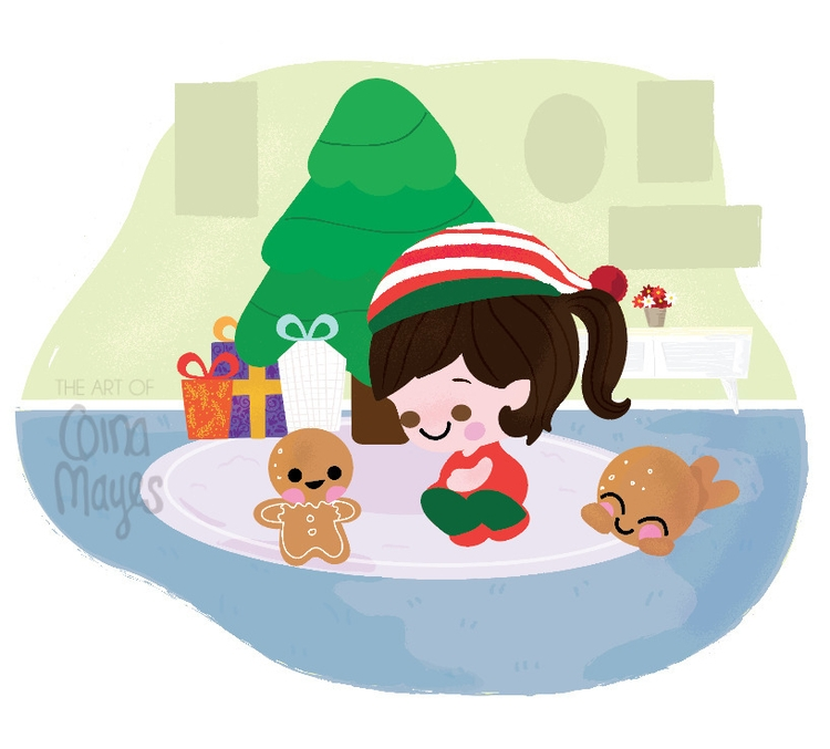 WIP - Christmas clipart  - christmas - ginamayes   ello