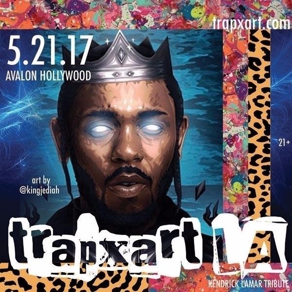 Trap Art LA: Sunday, 21, 10p-2a - jingletails | ello
