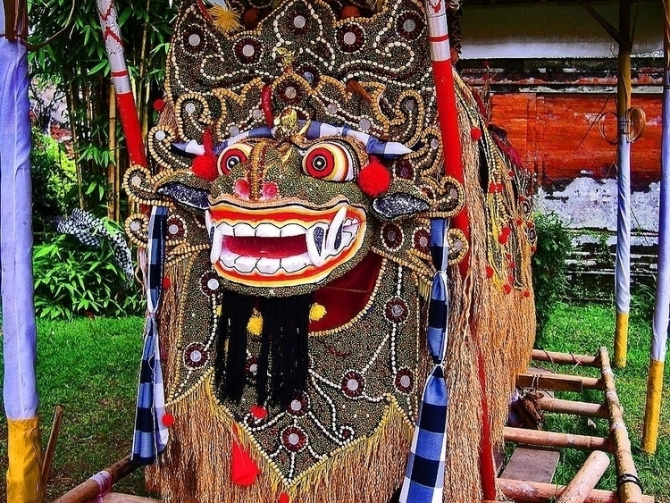 Bali. Masks. mask object worn f - andy-3331 | ello