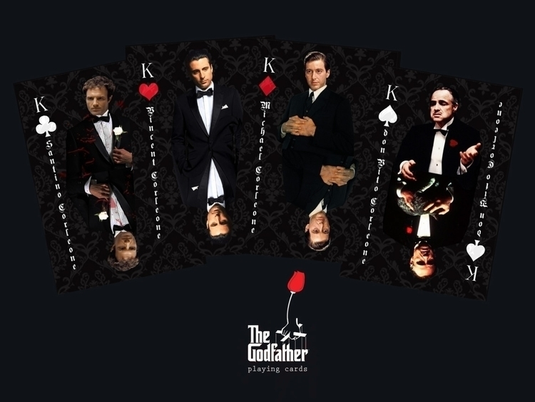 Godfather - playing cards - design - tomasch516 | ello