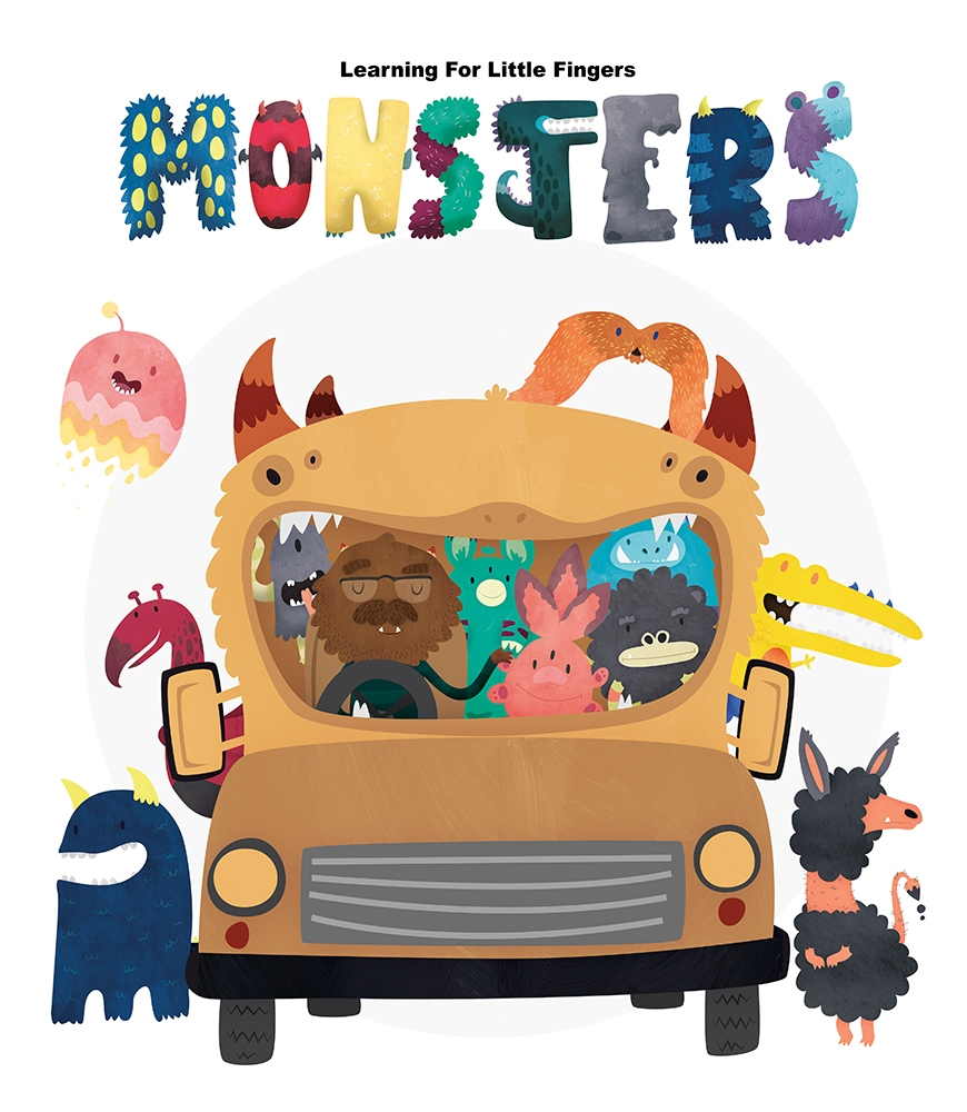 LFLF Monsters demo cover - monsters - clairestamper | ello