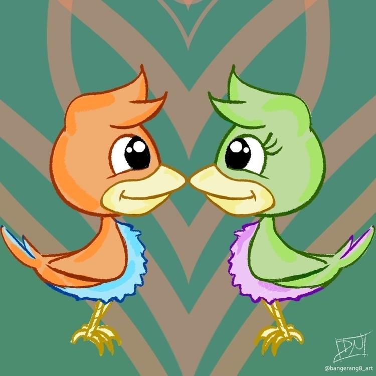 Love Birds digital August 2015 - dereknochefranca   ello
