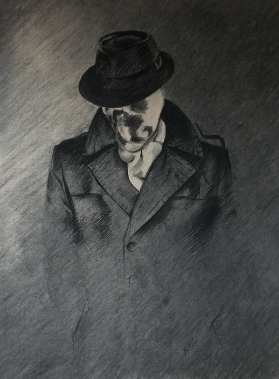 True Face | Charcoal, 70 × 100  - fallydesign | ello
