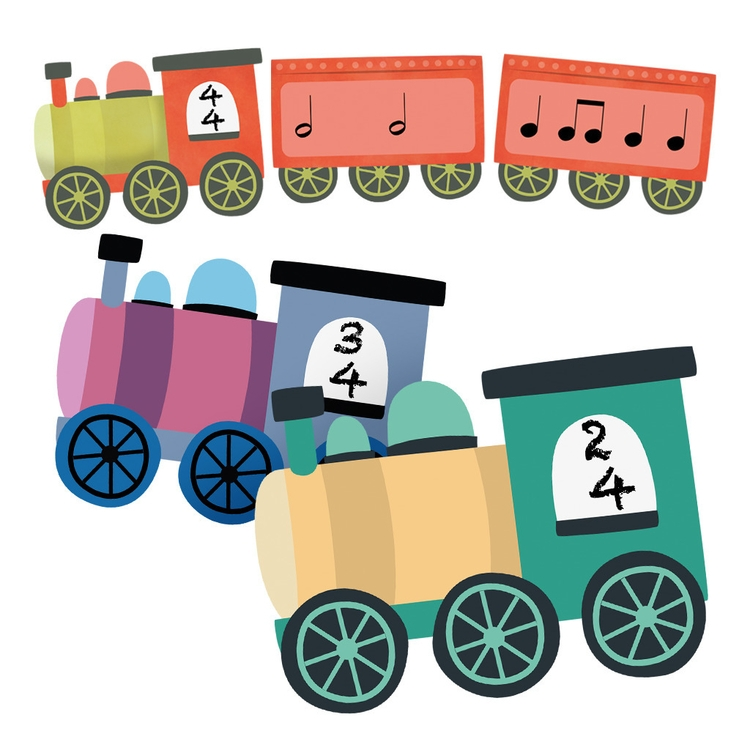 Rhythm Train Game - train, rhythm - clairestamper | ello