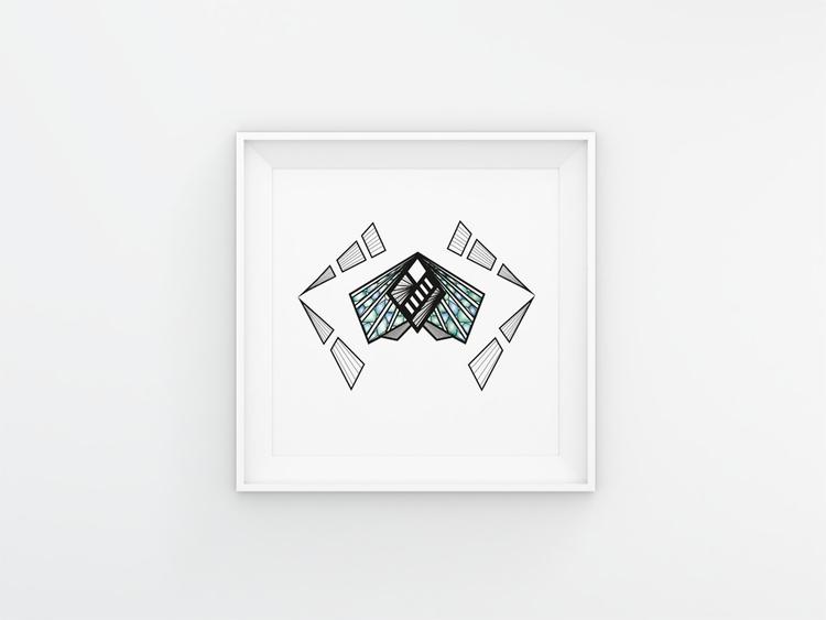 illustration, painting, poster - yanagabova   ello