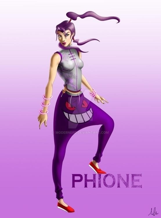 Phione - originalcharacter, alfredmanzano - alfredmanzanoart | ello