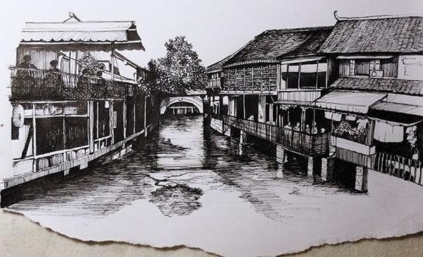 China village - china, micronpen - juliettemary | ello