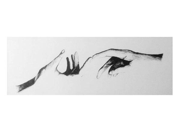 Hands - drawing, hands, micronpen - juliettemary | ello