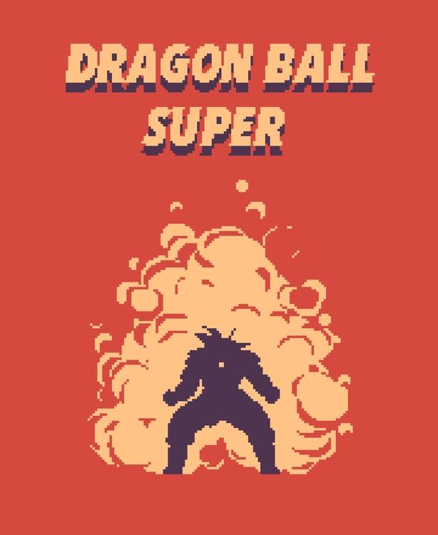 Dragon Ball Super - fanart, pixelart - planckpixels | ello