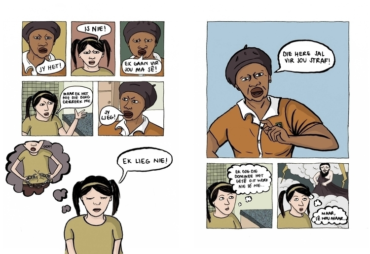Lord punish - illustration, graphicnovel - marikeleroux | ello