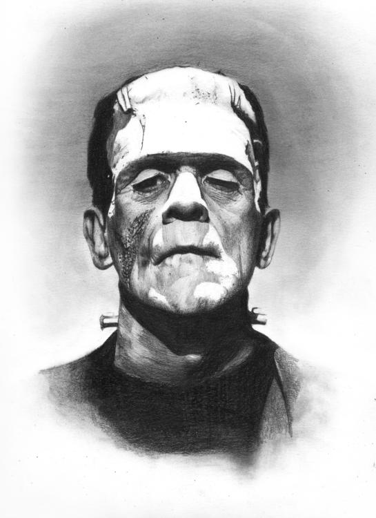 Frankenstein - frankenstein, portrait - arnaud-1410 | ello