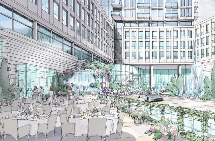 Resort Entry Dinning Concept De - rpoling | ello