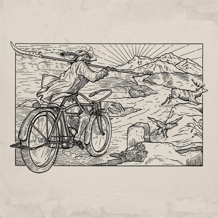 Deadly Ride - illustration, drawing - tomlinke   ello