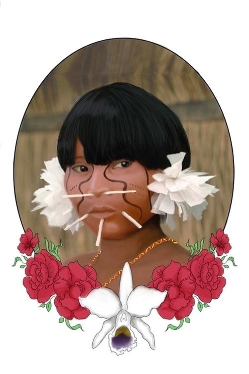 tribute - illustration, animation - astrdmargaritaa | ello