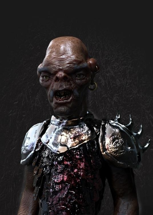Orc commander - characterdesign - mikedaskalov | ello