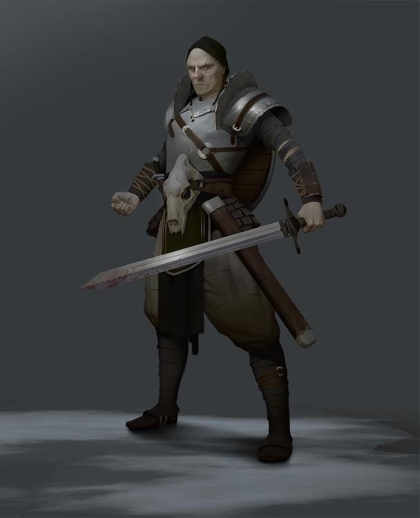 Hunter - conceptart, hunter, character - romankerimov | ello