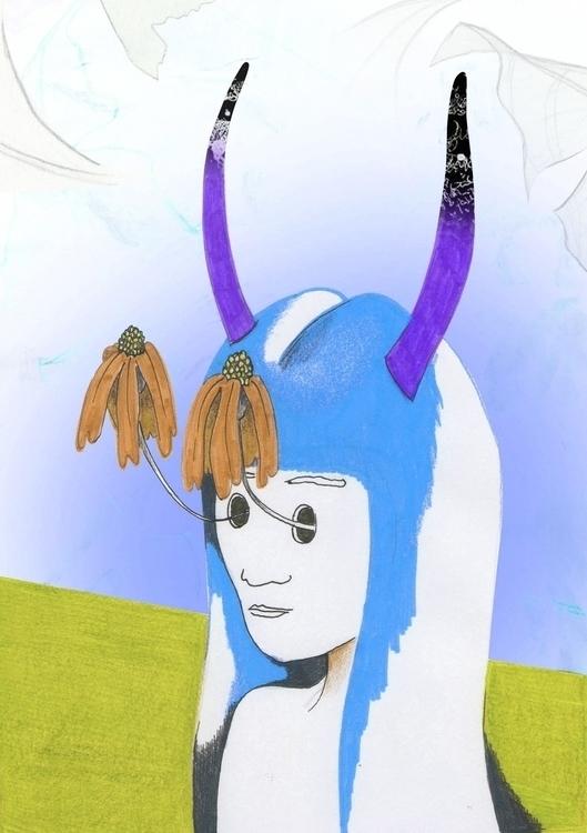 Kalopsia - delusion beautiful - illustration - studiomichelmarie | ello