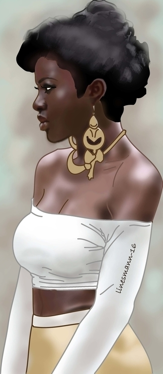 blessing - illustration, painting - sunnyefemena | ello