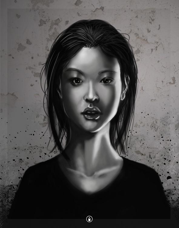 portrait practice - illustration - bryanmahy | ello