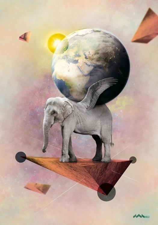 Shakyamuni digital art project  - wist-1277 | ello