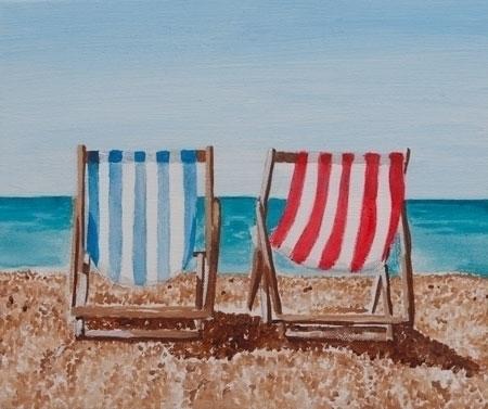 Deck Chairs - deckchairs, beach - lavott | ello