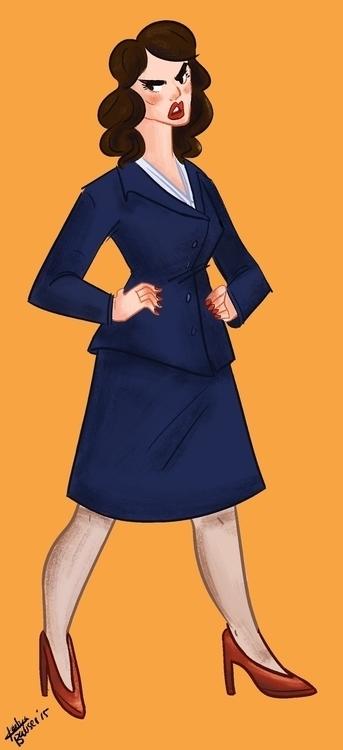 Agent Peggy Carter - agentcarter - katyabowser | ello