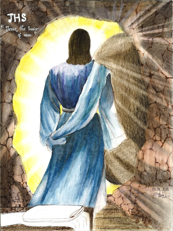 Saviour - easter, painting, JesusChrist - moonyhang | ello