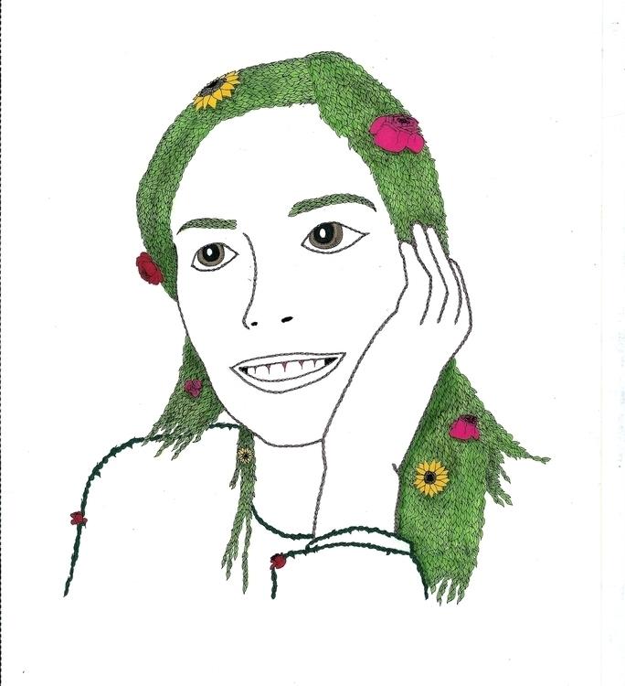 Love - illustration, drawing - dejvidknezevic   ello