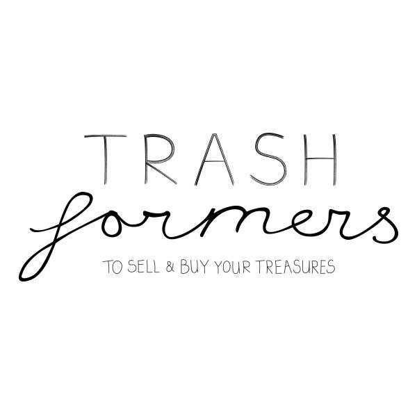 Logo Trashformers  - logo, handdrawn - studiomichelmarie | ello