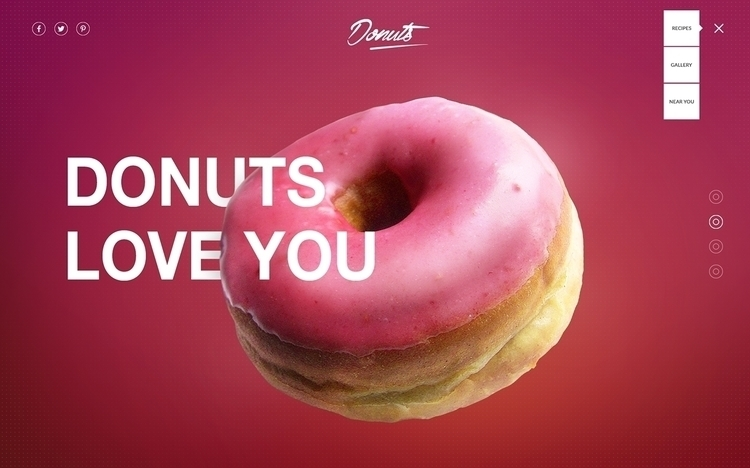 Donuts Webdesign - donuts, website - flo-5525 | ello