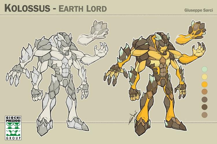 Kolossus - character, fantasy, sketch - sarcix | ello