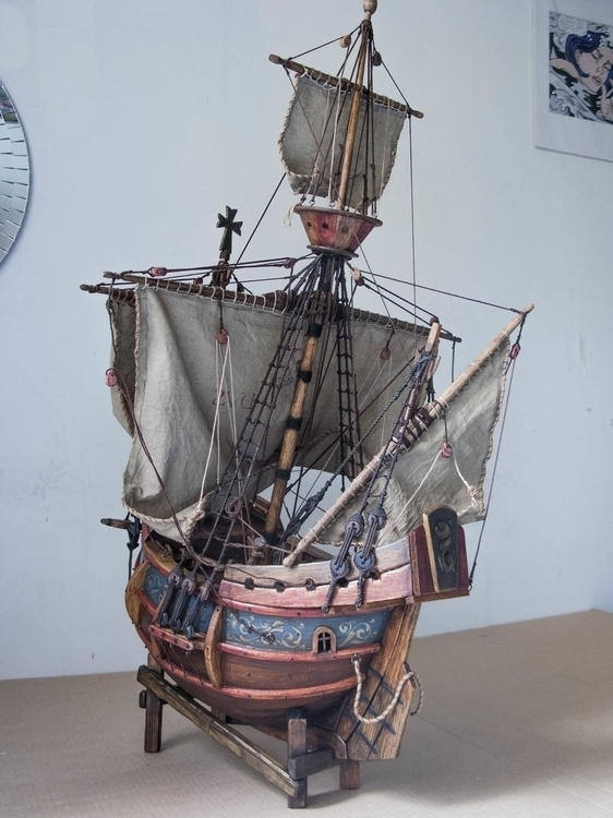 sculpture, ship, model - cyrill-9864 | ello