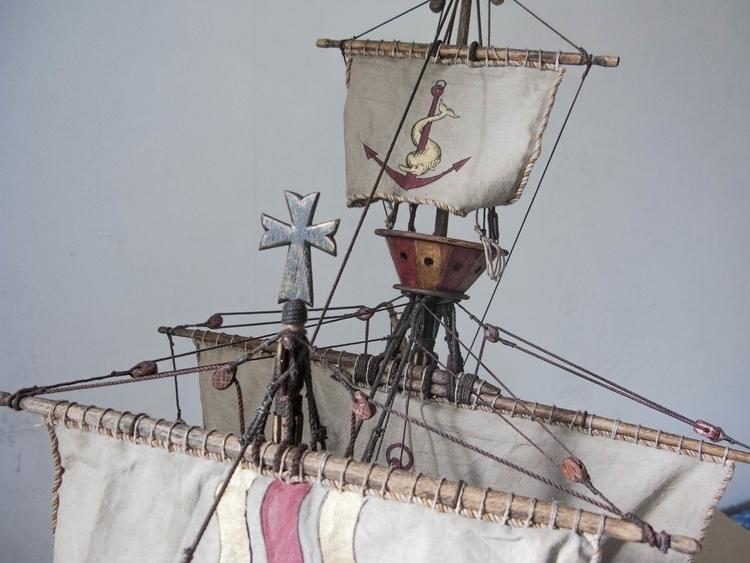 sculpture, ship, model - cyrill-9864   ello