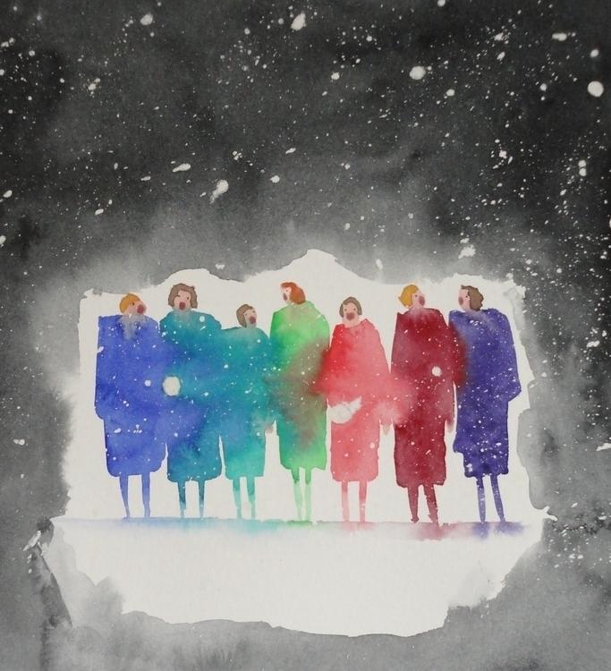 Carol singers - Christmas, Carolsingers - paulfrance | ello
