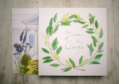 Lisa Wiersma, Wedding invitatio - lisawiersma | ello