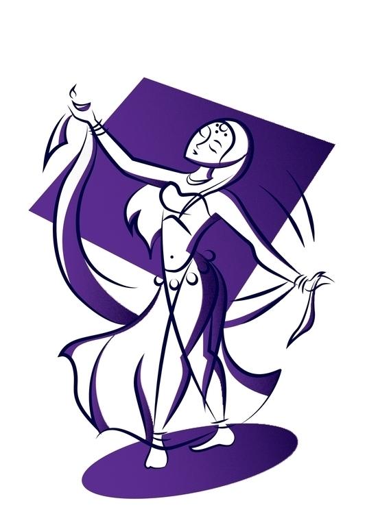 Bollywood Dancer - characterdesign - amrita-4734 | ello